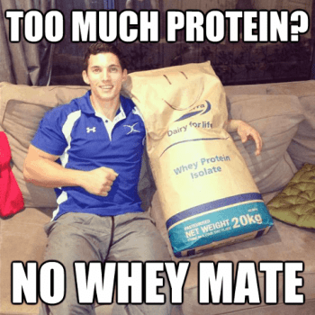 funny protein meme