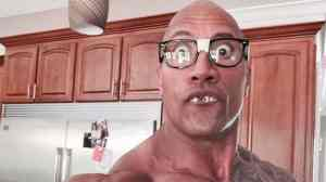 the rock funny