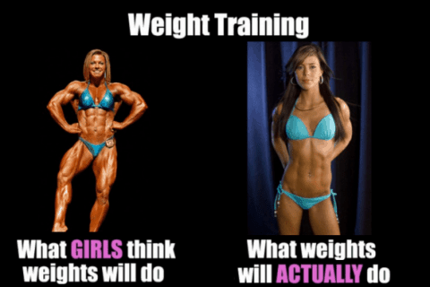 female fitness meme