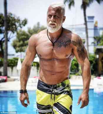 50 yr old bodybuilder