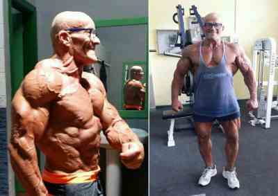 over 50 bodybuilder