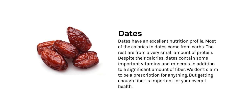 Ingredient dates