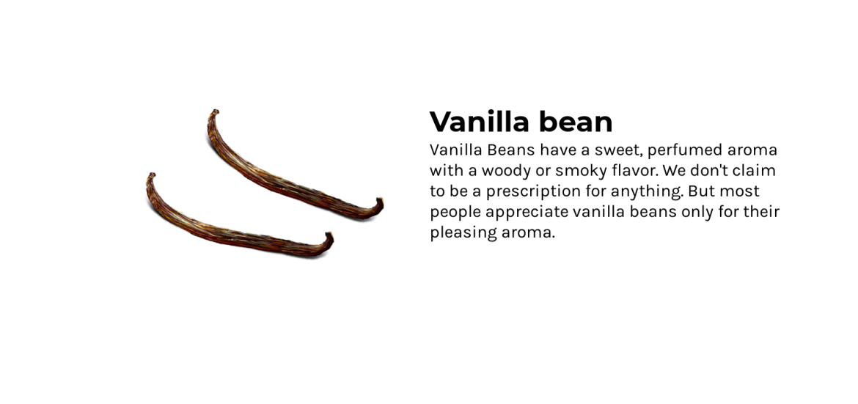 ingredients vanilla bean