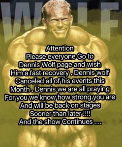 Dennis-wolf injured