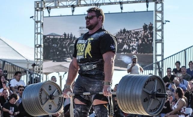 2020 Arnold Strongman Pro