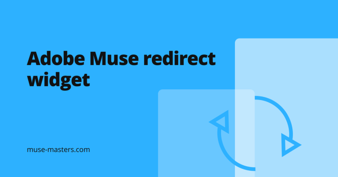 Free redirect widget for adobe muse