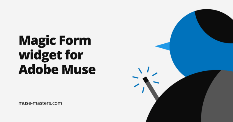 Magic Form drop-down list, calndar, mask for Adobe Muse