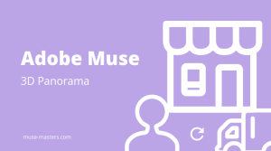 3D Panorama widget for Adobe Muse