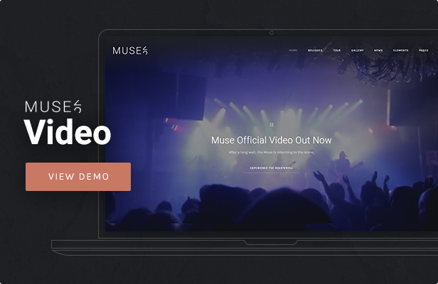 Muse - Music Video WordPress Theme