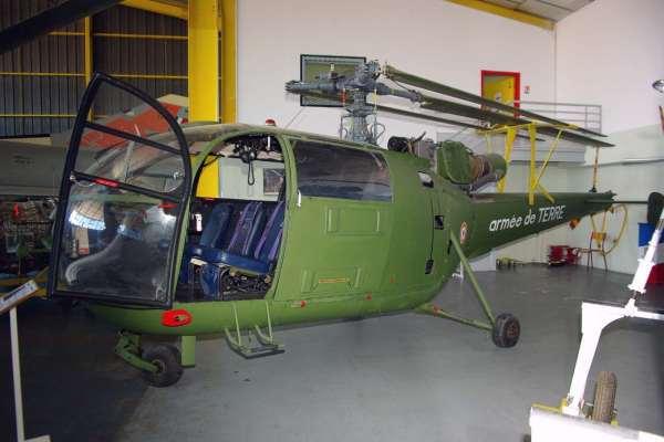 ALOUETTE III SA 316 ALAT - Musée aviation Saint Victoret