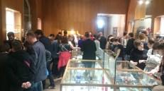 Foule au musée de la contrefaçon
