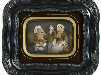 Une famille bretonne en daguerréotype