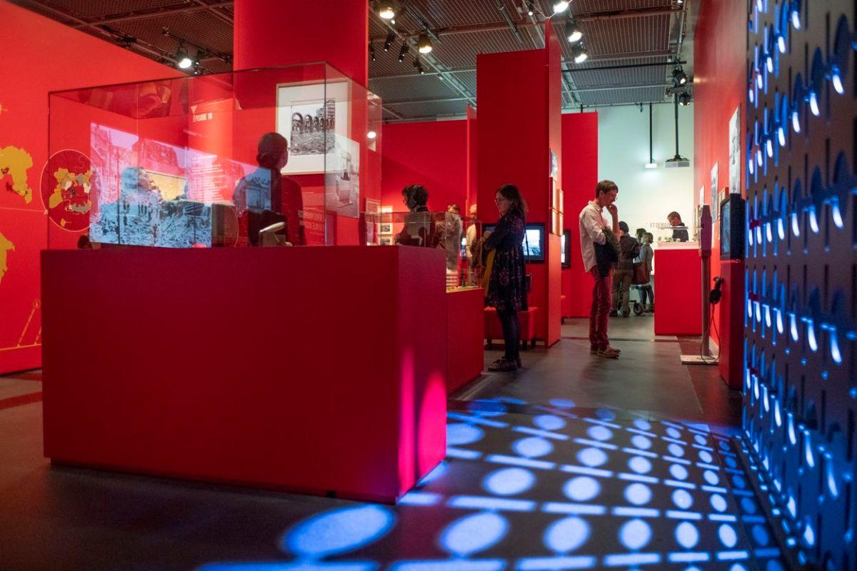 Inauguration de l'exposition Rennes, les vies d'une ville