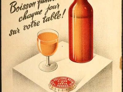 Le cidre, boisson familiale chaque jour sur votre table !