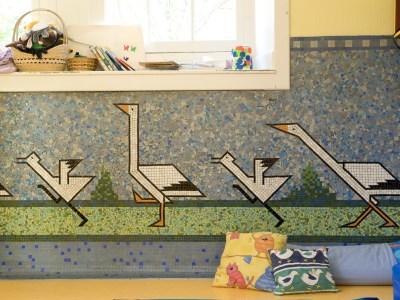 Les mosaïques Odorico fils : le revêtement idéal pour les bâtiments publics