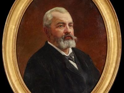 Un portrait d'Edgard Le Bastard entre dans les collections