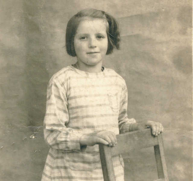 Testimony from Bernardette Robert, 8 years old in 1944