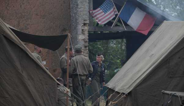 Location de tente US SQUAD 11944 - reconstitution débarquement