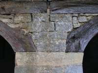 Charreterie arche en bois