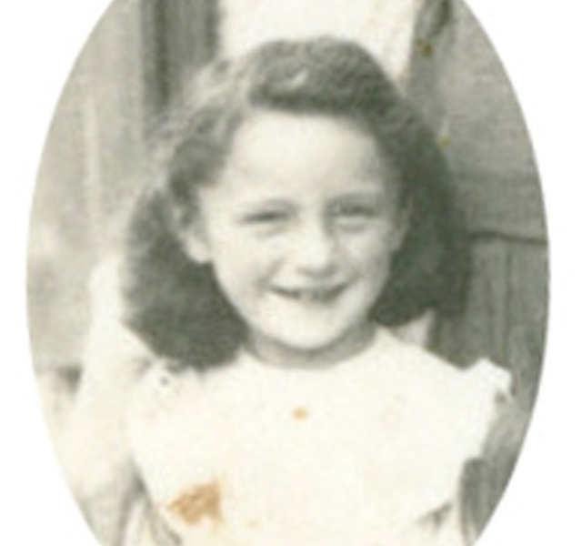 Zeugnis von Marie Saint, 10 Jahre im Jahr 1944