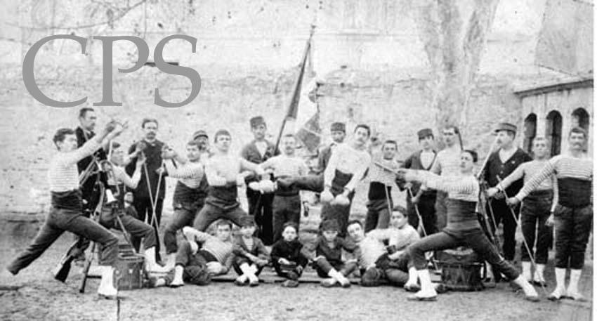 L'objectif des sociétés de gymnastique fondées après la défaite de 1870 avaient pour but la formation des futurs combattants de la revanche.