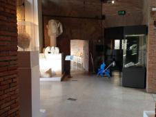 #ADayInTheLife il lunedì è giornata di pulizia straordinaria anche ai Mercati di Traiano #MuseumWeek