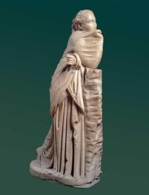 #MuseumMastermind Cosa reggeva la giovane e pensosa musa Polimnia della #CentraleMontemartini? #MuseumWeek