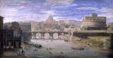 Gaspar van Wittel (1653-1736) Veduta di Tor di Nona Tempera su pergamena 1682-1688 Roma, Musei Capitolini, Pinacoteca Capitolina (inv. PC 74)