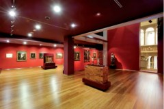 Interior de la primera planta del museo