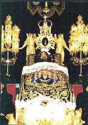 Imagen del Cristo de la Cama.