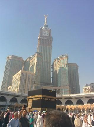Ka'bah and Zam-Zam Tower