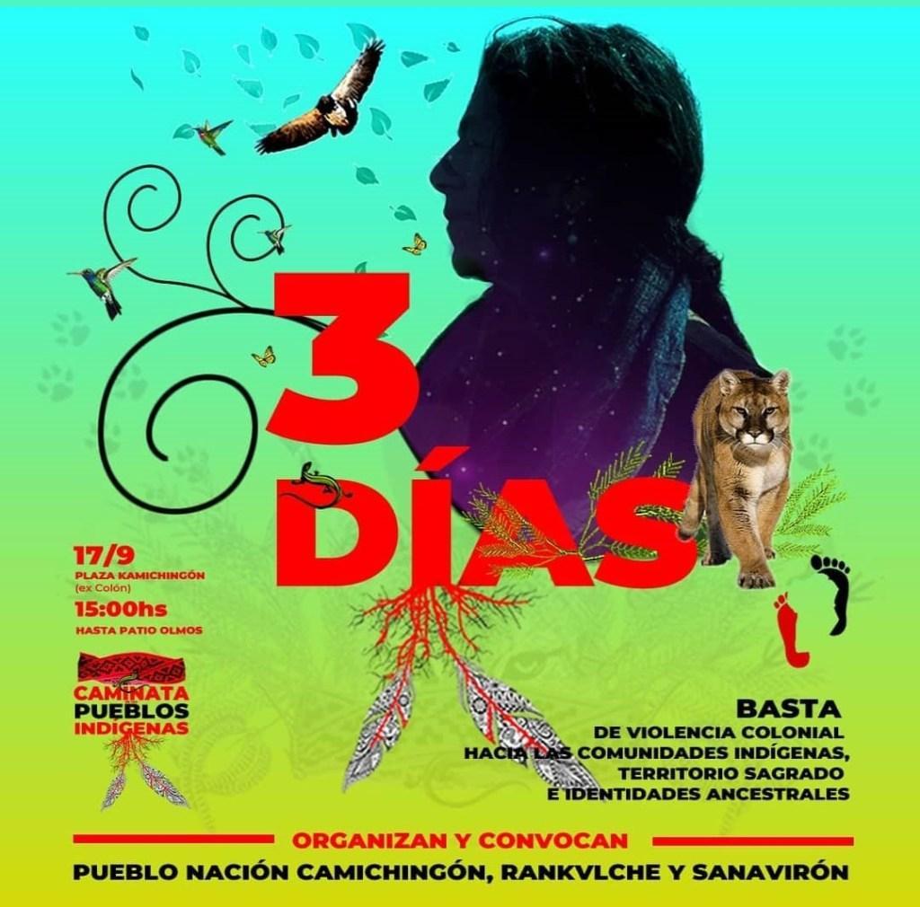 3 Días. Caminata de los Pueblos Indígenas de Córdoba