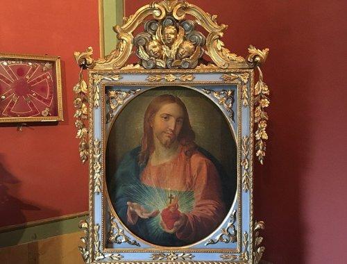 Altarolo Gesu del sacro cuore