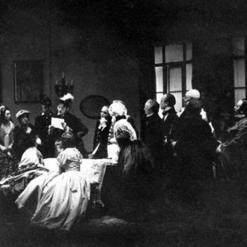 """The Government Inspector"" of Nikolai Vasilievich Gogol, 1936, Slovak National Theatre, Bratislava (Slovakia), © Divadelný ústav/Theatre Institute Bratislava"