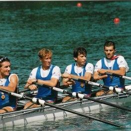 29. Canottaggio. Mauro Baccelli, atleta della Società Canottieri Arno è stato campione del mondo nel 1999 e nel 2001