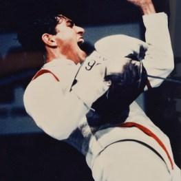 30. Scherma. Alessandro Puccini, medaglia d'oro alla XXVI Olimpiade, Atlanta 1996