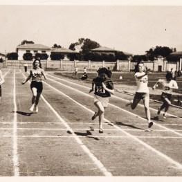 36. Atletica leggera. Gare provinciali giovanili all'Arena Garibaldi. Pisa, 8 maggio 1958 (Foto Frassi)