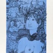 36. Tono Zancanaro, O buon Apollo, litografia, mm695x500, 1966