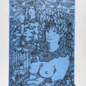 38. Tono Zancanaro, O buon Apollo, litografia, mm695x500, 1966