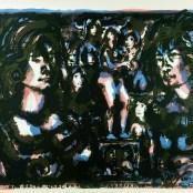 73. Tono Zancanaro, Non facea nascendo ancora paura, litografia, mm640x957, 1966