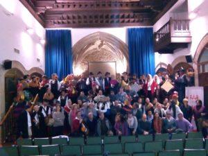 Foto de familia de l@s participantes en el Encuentro