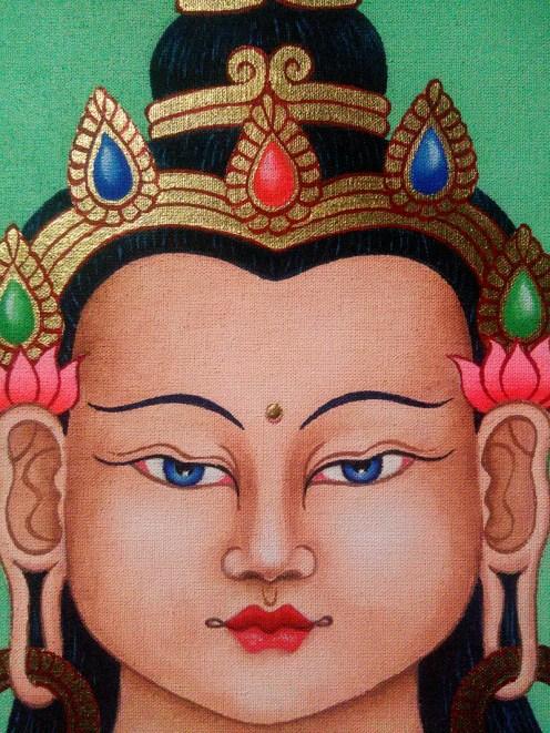 SILVIA SCARAFIA AvalokiteshvaraBuddha-face