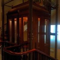 El ascensor de principios del siglo XX del Museo Lázaro Galdiano