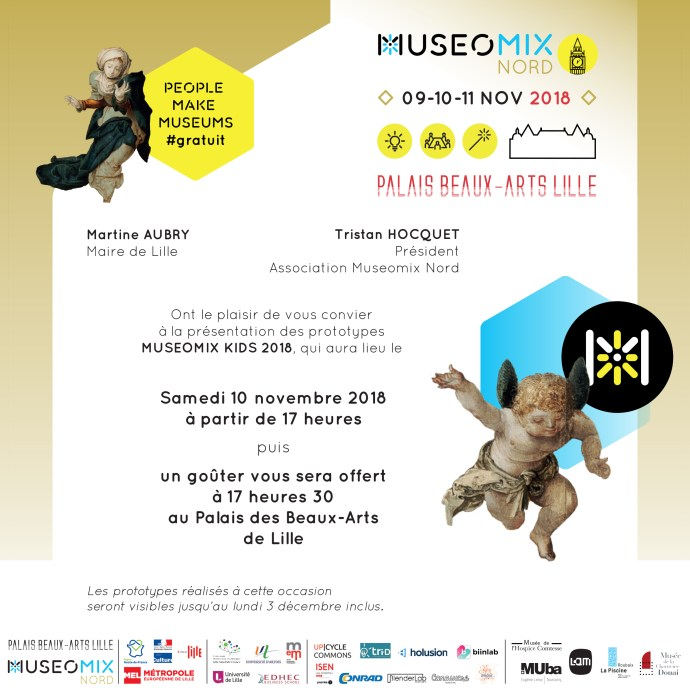 Invitation Museomix Kids 2018