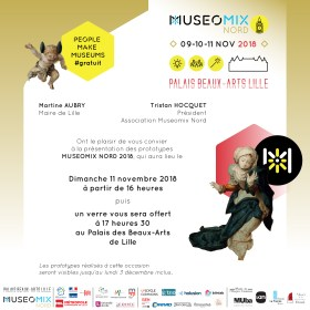 Invitation Museomix 2018