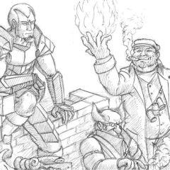 Iron kingdoms RPG musings