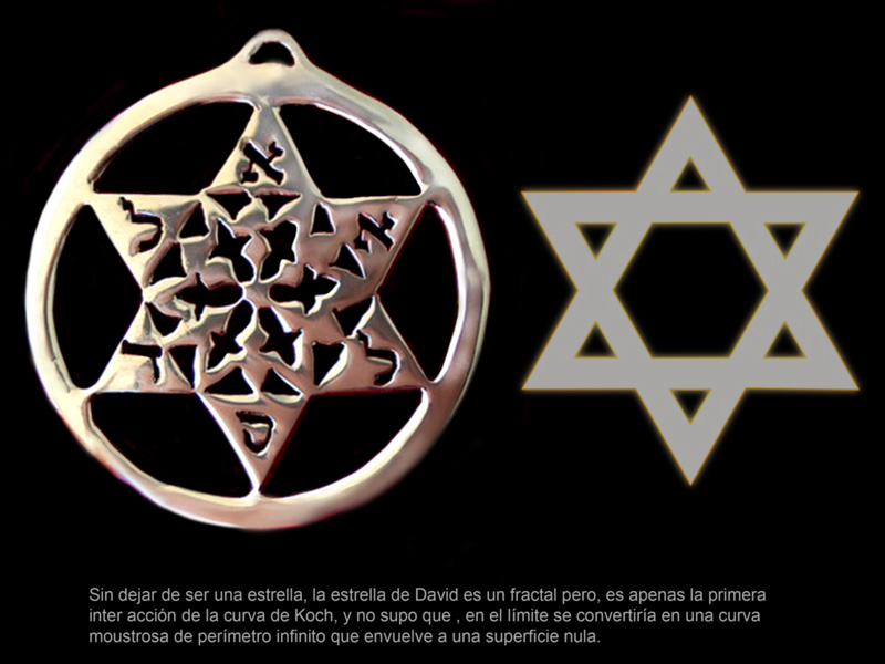 Estrella de David, fractal