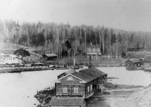 Salmela 1900-luvun alussa. Kuva: Mäntyharjun museo.