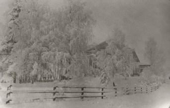 Iso-Pappila 1910-luvulla. Kuva: Mäntyharjun museo.