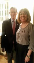with Sen. Dick Blumenthal (D-CT), a fierce supporter of victims' rights and the 9/11 community